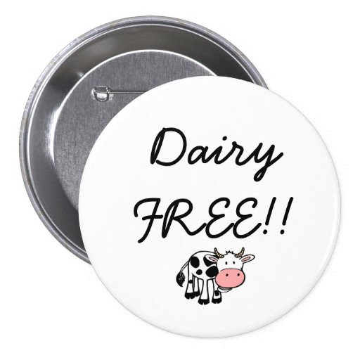 Dairy Free button