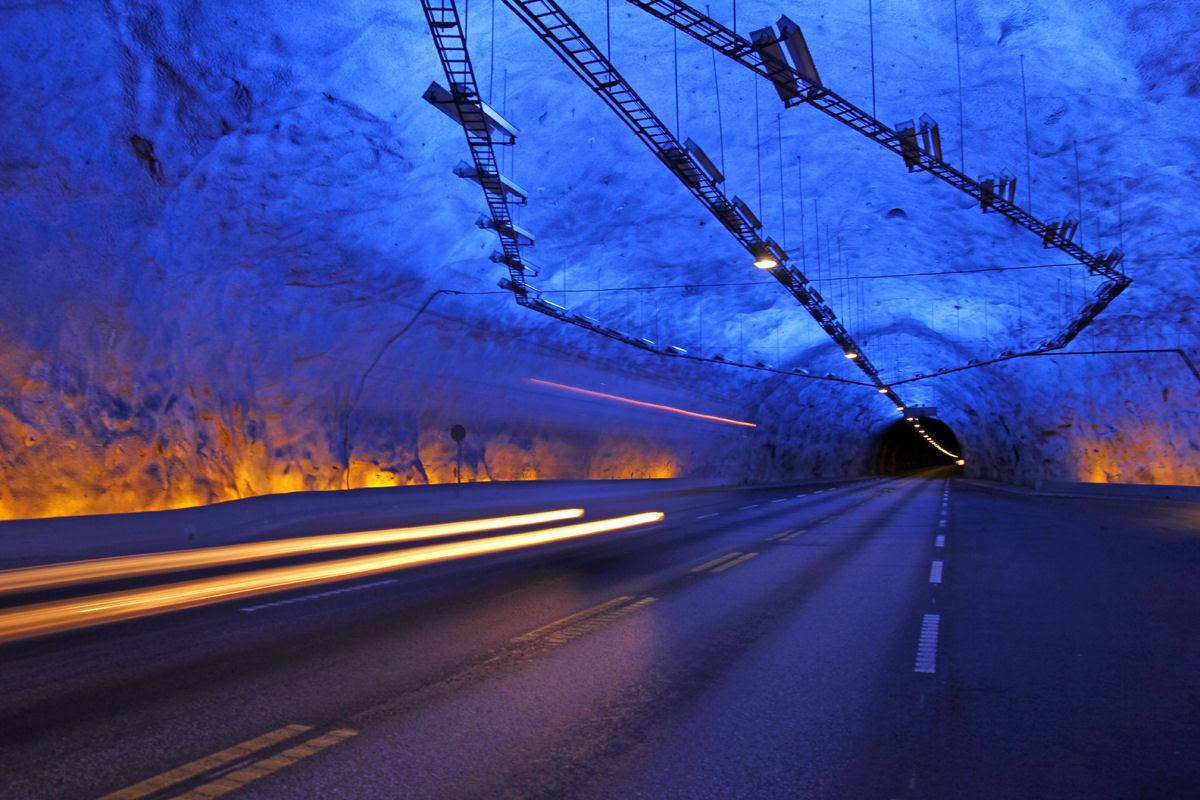 Lærdal Tunnel: o maior túnel rodoviário do mundo 01