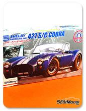 Kit 1/24 Fujimi - Shelby American 427 S/C Cobra - maqueta de plastico