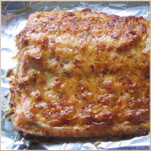 Baked Salmon ala Mayonnaise