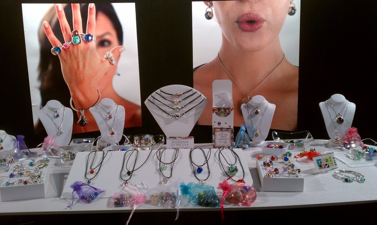 Marble Jewelry Display