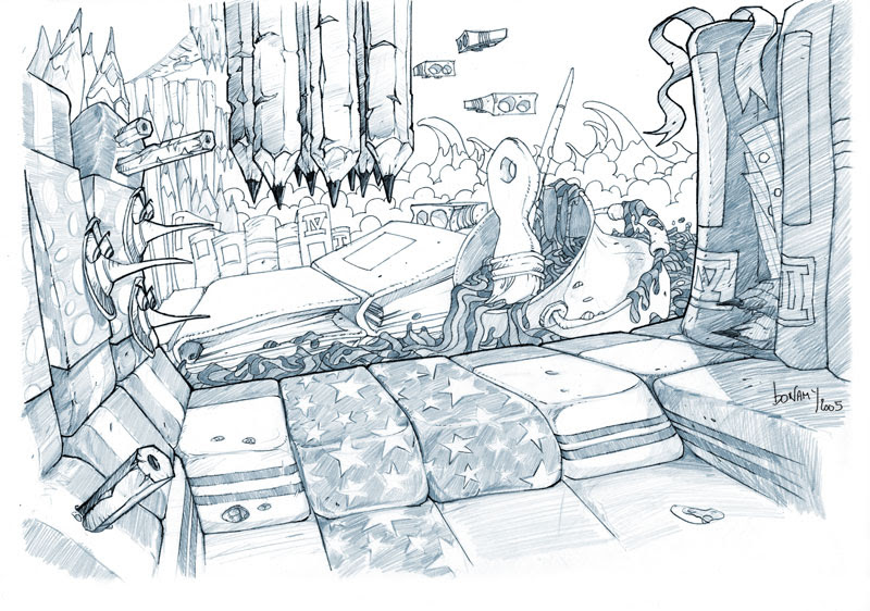 Artwork Rayman 4  la Cité des Images