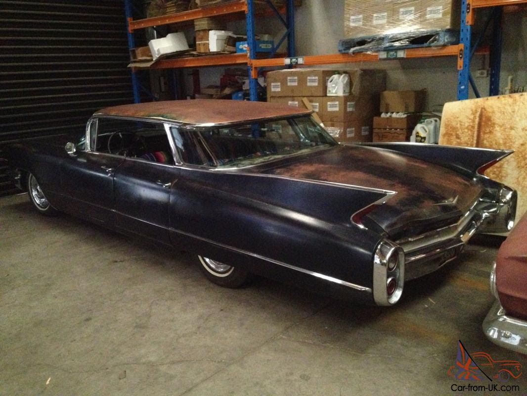 1960 Cadillac Flat TOP Sedan Deville RAT ROD Kustom Barn ...