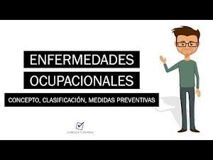 Enfermedades ocupacionales: Concepto, Clasificación y Medidas Preventivas