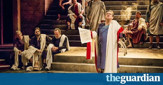 Imperium review – Robert Harris's Cicero epic is a Roman triumph for the RSC | Stage | The Guardian