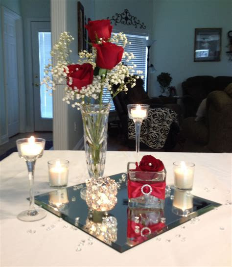 Low budget wedding centerpiece by Vera   One day .now a