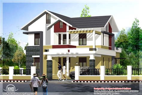 front design  house  small budget single floor