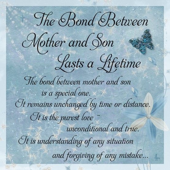 Mother Son Bond Quotes. QuotesGram