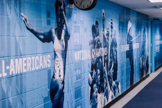 Columbia Dodge Fitness Center Mural - Large Format Digital Print