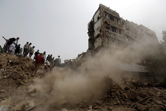 Deadly Airstrikes Pulverize Historic Houses in Yemen