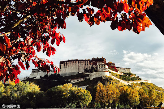 Autumn drapes Lhasa in beautiful colors[1]-