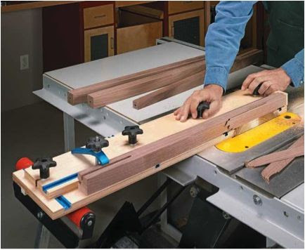 Homemade Table Saw Taper Jig