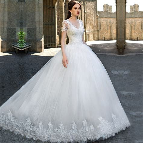 Aliexpress.com : Buy New Arrival Ball Gown Wedding Dresses