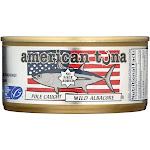 American Tuna - Canned Tune - No Salt - Case Of 24 - 6 Oz