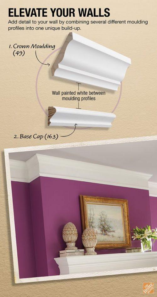 DIY How to Build Molding to Elevate Your Walls - iSeeiDoiMake