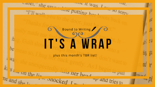 Vacation is Over, Bring on the Sweater Weather - August Wrap-Up & September TBR - Bound to Writing