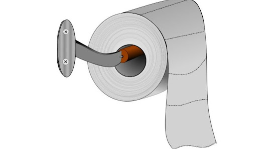 This is The Right Way to Hang Toilet Paper, According to Science
