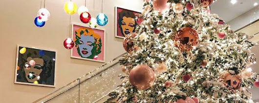 Get into the Holiday Spirit with These Celebrity Christmas Trees 2017