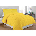 South Bay Alternative Comforter Set, Twin, Yellow