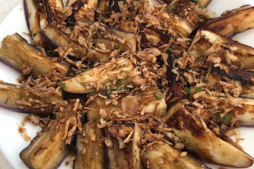Recipe of Any-night-of-the-week Grandma's Grilled Eggplant
