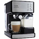 Mr. Coffee Café Barista BVMC-ECMP1000 Espresso Machine - Black/Silver