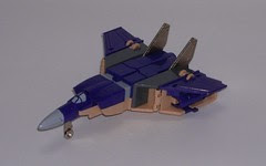 Transformers Blitzwing G1 - modo alterno (avión)