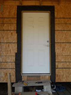 Front Screen Door Tar Paper