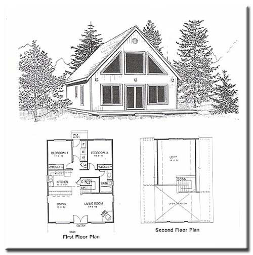 One Bedroom Lofts: Build A 16x20 Cabin Most Popular