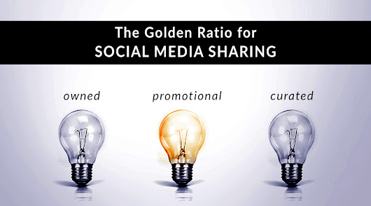 The Golden Ratio for Social Media Sharing | Pinney Insurance