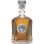 Kentucky Wildcats UK Decanter Whiskey Glass Liquor Bottle
