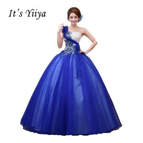Vestido de Casamento Strapless Wedding Dresses Blue Pink