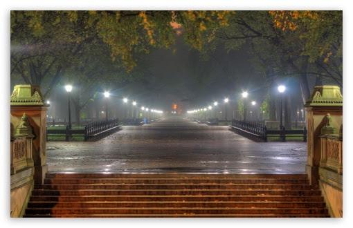 Central Park At Night, New York City 4K HD Desktop ...