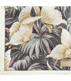 Reiss Fantasia Floral Silk Hank Sepia