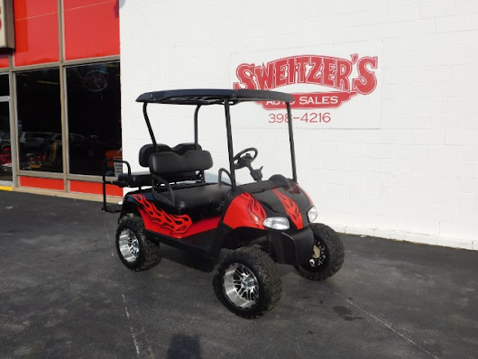 Used 2010 EZ-GO Golf Cart Gas for Sale in Jersey Shore PA 17740 Sweitzer's Auto Sales