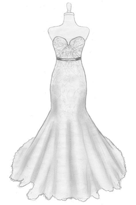 A Bride's Design: Design Your Own Wedding Gown!