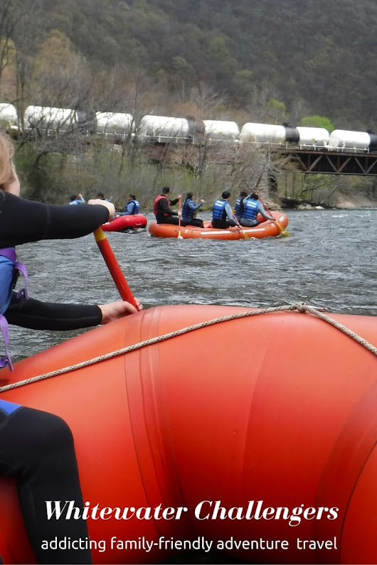 Family Friendly Adventure Travel: Whitewater Challengers