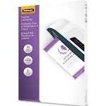 """Fellowes Lamination pouches, 9"""" x 14.5"""", Clear - 50-pack"""