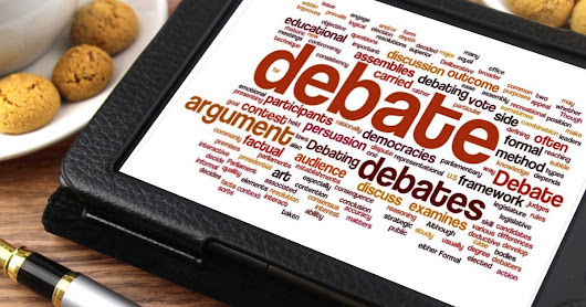 How not to debate!