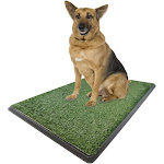 """X-large Pet Potty Patch - Dog Training Bathroom Pad Indoor Or Outdoor Use 30"""" X 20"""" X 2"""""""