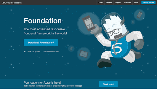 Trying Zurb Foundation; what I found. | Matt Wilcox, Web Developer & Tinkerer