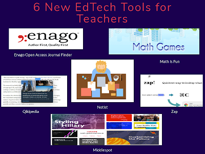 6 New EdTech Tools for Teachers and Educators