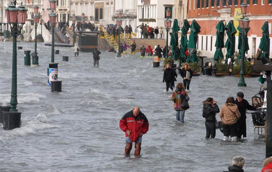 Perierga.gr - Πλημμύρα στη Βενετία