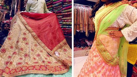 Designer Lehenga For Wedding At Cheapest Price   Half
