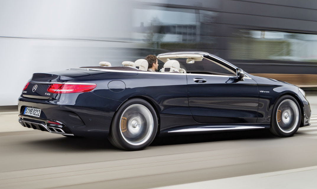 2017 Mercedes-AMG S65 Convertible Release Date