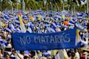 Thousands march to demand justice as Nicaragua protest toll hits 43