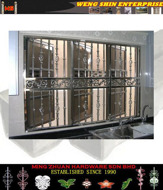 Stainless Steel Windows Design - Windows