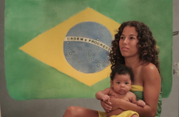 Suelen Marcheski de Oliveira ensaio paralímpico meningite paralímpiadas (Foto: Anne Guedes/Divulgação)