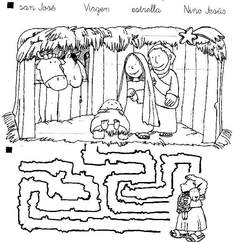 Dorable Hojas De Actividades Para Colorear De Navidad Imágenes ...