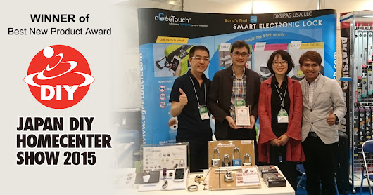 Winner of Best New Product award at Japan DIY Homecenter Show 2015