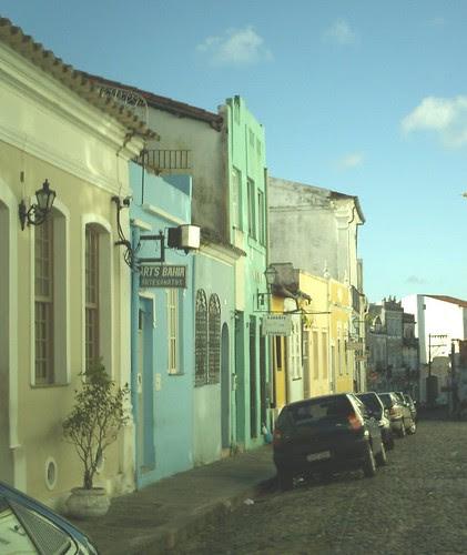 Uma rua...